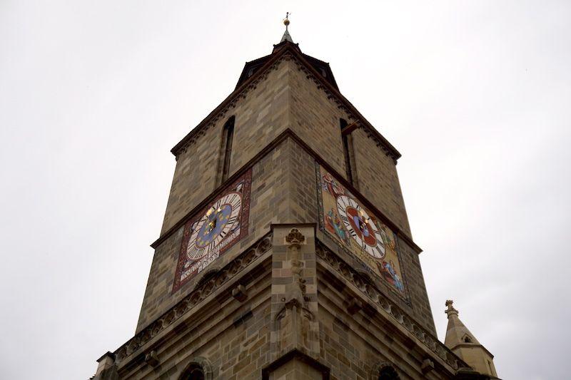 La Torre del reloj de la Iglesia Negra