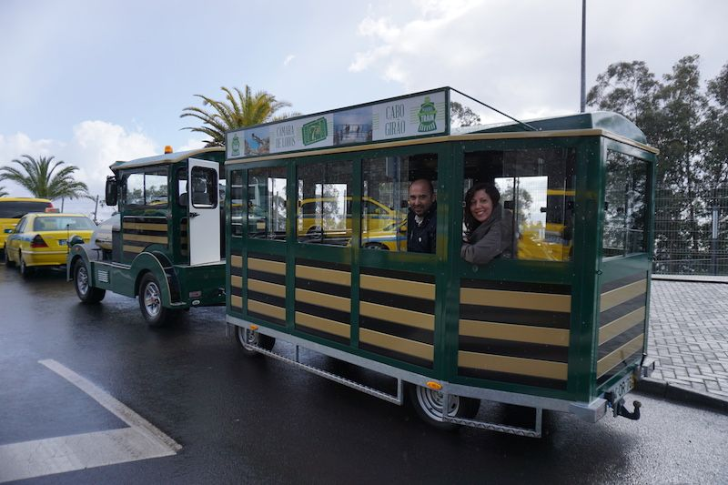 Luís, responsable de Madeira Green Train e Inês