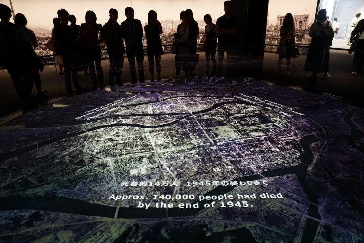 El Museo de la Paz, Hiroshima.