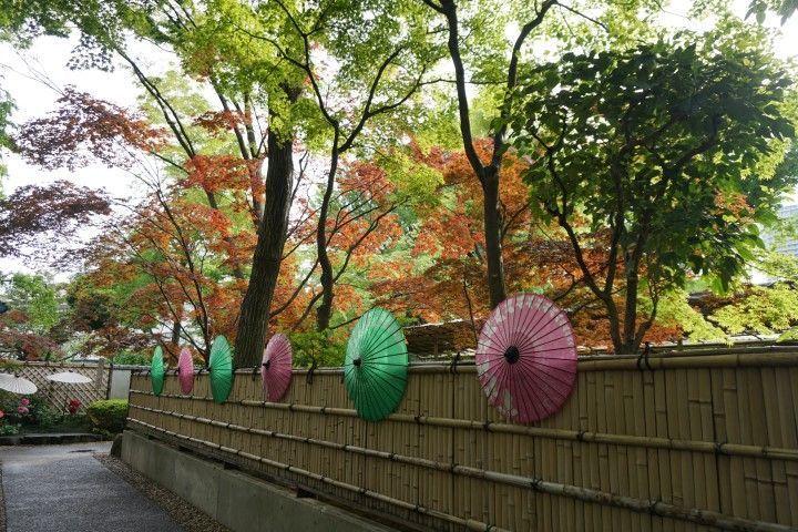 Un rincón del parque Ueno, en Tokio.