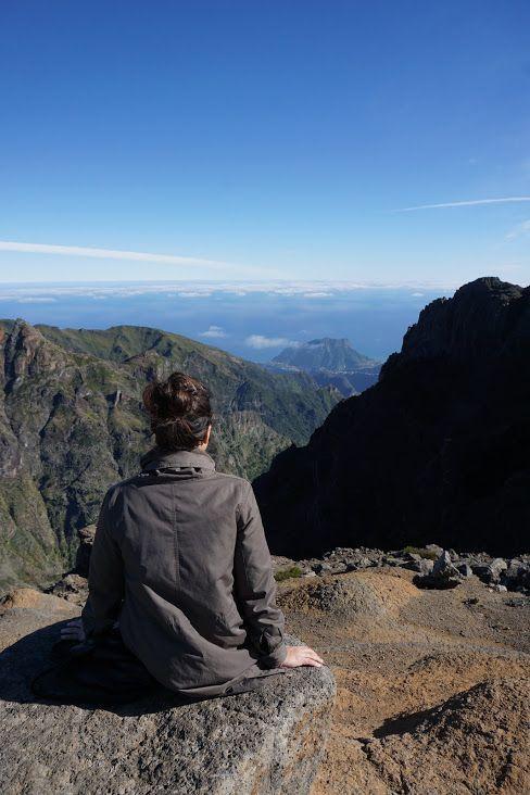 Pico do Arieiro en un día limpio