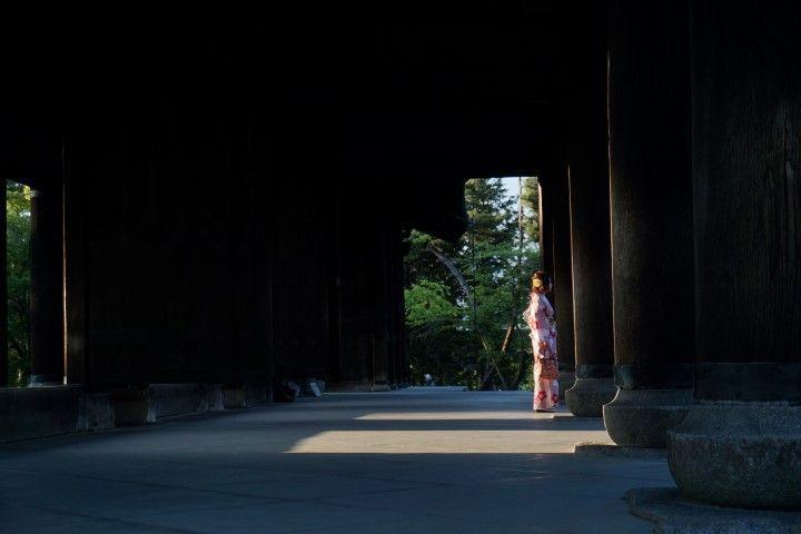 La belleza escénica japonesa nos hizo regalos como este constantemente: el impresionante templo budista Zen de la escuela Rinzai, en Kioto.