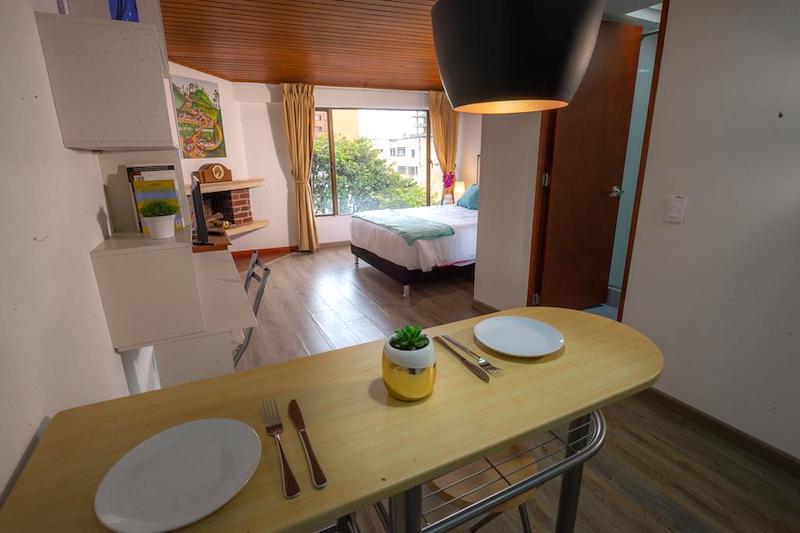 Nuestro apartamento en Chapinero Alto, Bogotá