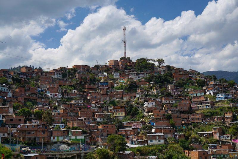 Vista de la Comuna 13