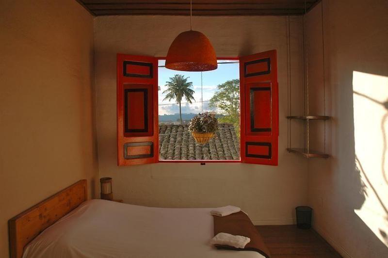 Habitación del Hostal Tralala en Salento. Foto de Booking