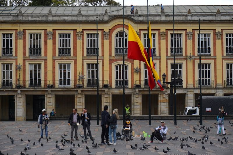 Plaza de Bolívar, Bogotá