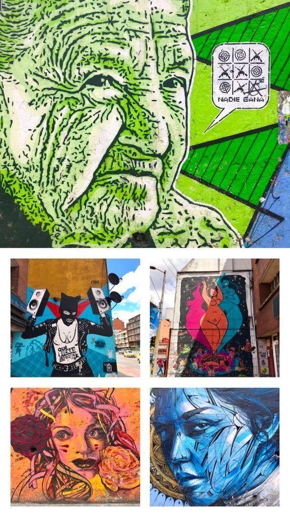 Deja que Bogotá te saque sus colores