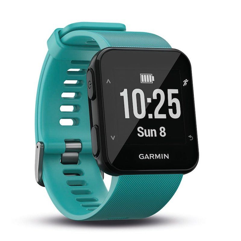 Con monitor de actividad que te cuentas los pasos y las calorías, control de frecuencia cardíaca, GPS para no perderte y hasta te notifica las llamadas y mensajes de texto :)