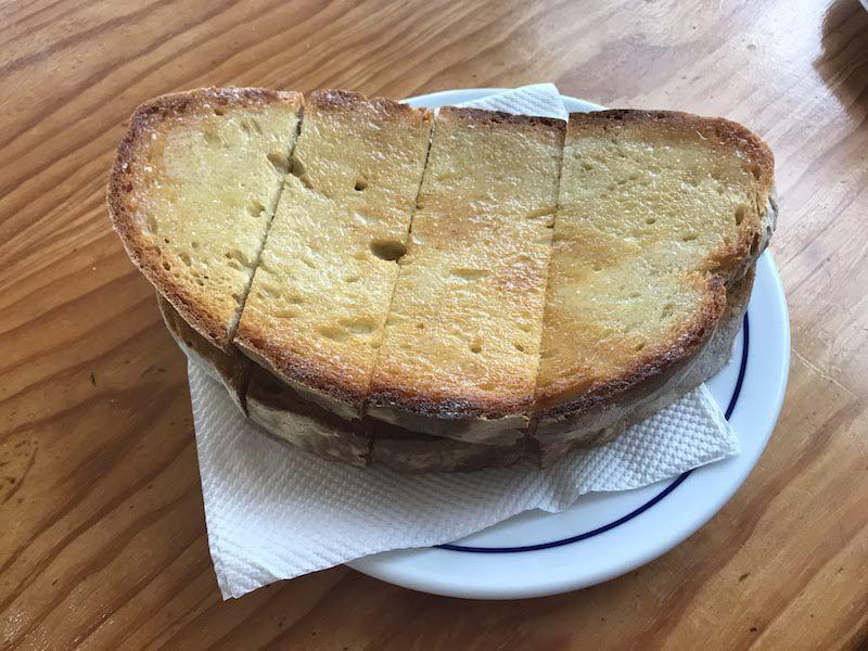 En Alentejo hasta una simple tostada con mantequilla es una delicatessen...